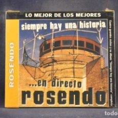 CD de Música: ROSENDO - SIEMPRE HAY UNA HISTORIA (+ 4 GRANDES ÉXITOS) - CD. Lote 288472293