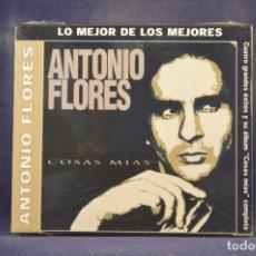 CDs de Música: ANTONIO FLORES - COSAS MIAS (+ 4 GRANDES ÉXITOS) - CD. Lote 288472923