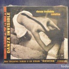 CDs de Música: DANZA INVISIBLE - CATALINA (+ 4 GRANDES ÉXITOS) - CD. Lote 288475558