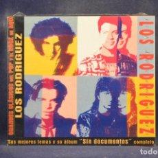 CDs de Música: LOS RODRÍGUEZ - SIN DOCUMENTOS (+ 4 GRANDES ÉXITOS) - CD. Lote 288476178