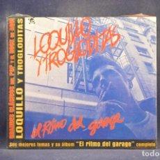 CDs de Música: LOQUILLO Y TROGLODITAS - EL RITMO DEL GARGE (+ 4 GRANDES ÉXITOS) - CD. Lote 288476713