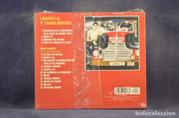 CDs de Música: LOQUILLO Y TROGLODITAS - EL RITMO DEL GARGE (+ 4 GRANDES ÉXITOS) - CD - Foto 2 - 288476713