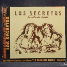 CDs de Música: LOS SECRETOS - LA CALLE DEL OLVIDO (+ 4 GRANDES ÉXITOS) - CD. Lote 288476873