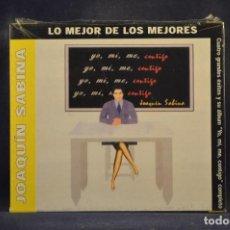 CDs de Música: JOAQUÍN SABINA - YO, MI, ME, CONTIGO (+ 4 GRANDES ÉXITOS) - CD. Lote 288477528