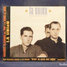 CDs de Música: LA UNIÓN - VIVIR AL ESTE DEL EDEN (+ 4 GRANDES ÉXITOS) - CD. Lote 288478978