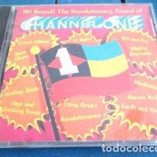 CDs de Música: -CD CHANNEL ONE HIT BOUND REVOLUTIONARY SOUND REGGAE USA. Lote 288521388