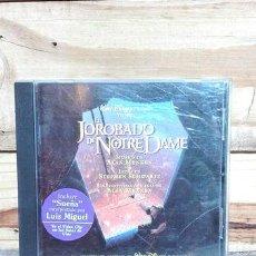 CDs de Música: CD JOROBADO DE NOTRE DAME LUIS MIGUEL ORIGINAL. Lote 288521693
