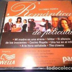 CDs de Música: CD LA MEJOR MUSICA ROMANTICA DE PELICULAS NRO 8. Lote 288524003
