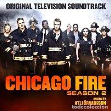 CDs de Música: ATLI ORVARSSON CHICAGO FIRE S 2 OST CD US IMP. Lote 288525763