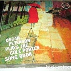 CDs de Música: -CD OSCAR PETERSON PLAYS THE COLE PORTER CONG BOOK C13 USA. Lote 288526448