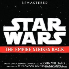 CDs de Música: J WILLIAMS STAR WARS THE EMPIRE STRIKES OST CD US IMP. Lote 288527073