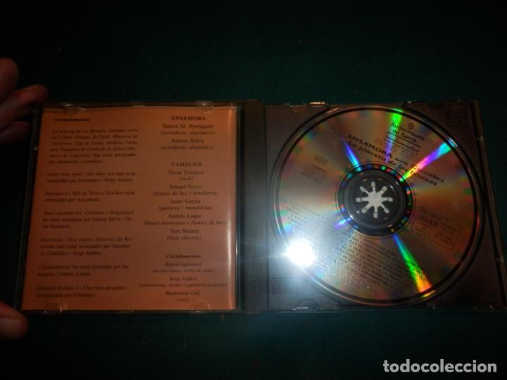 CDs de Música: ANSAMORA AMB CAMÀLICS - LA PLACETA DE LES BRUIXES - CD 16 TEMAS - ÀUDIO-VISUALS DE SARRIÀ 1994 - Foto 2 - 288611838