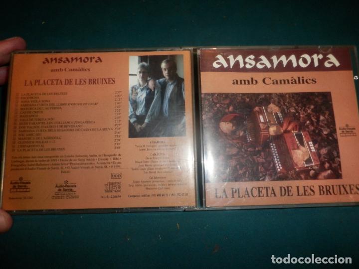 ANSAMORA AMB CAMÀLICS - LA PLACETA DE LES BRUIXES - CD 16 TEMAS - ÀUDIO-VISUALS DE SARRIÀ 1994 (Música - CD's Country y Folk)