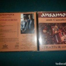 CDs de Música: ANSAMORA AMB CAMÀLICS - LA PLACETA DE LES BRUIXES - CD 16 TEMAS - ÀUDIO-VISUALS DE SARRIÀ 1994. Lote 288611838