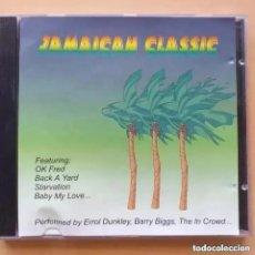 CDs de Música: JAMAICAN CLASSIC MUSIC GLOBE RECORDS (CD) 1998. Lote 288655463