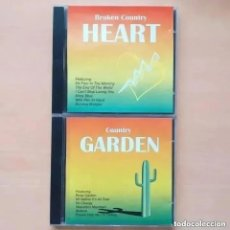 CDs de Música: BROKEN COUNTRY HEART Y COUNTRY GARDEN (CD) 1998. MUSIC GLOBE RECORDS. Lote 288655548