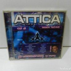 CDs de Música: DISCO CD. DJ PEPO – ATTICA ACTIVIDAD CONSTANTE. CD3. COMPACT DISC.. Lote 288684173