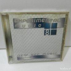 CDs de Música: DISCO CD. EXPERIMENTAL MUSIC 8 – NEW AGE MUSIC UNDERTHENET. COMPACT DISC.. Lote 288687563