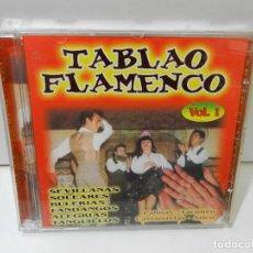 CDs de Música: DISCO CD. TABLAO FLAMENCO – SEVILLANAS, SOLEARES, BULERIAS. COMPACT DISC.. Lote 288694888