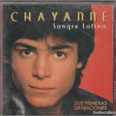 CDs de Música: CHAYANNE - SANGRE LATINA · SUS PRIMERAS GRABACIONES (CD SONY 1999 ESPAÑA). Lote 288715588