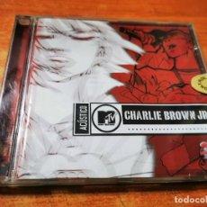 CDs de Música: CHARLIE BROWN JR. MTV ACUSTICO CD DEL AÑO 2003 BRASIL CONTIENE 20 TEMAS. Lote 288716398