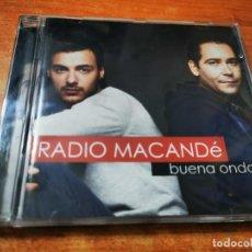 CDs de Música: RADIO MACANDE BUENA ONDA CD ALBUM DEL AÑO 2007 CONTIENE 12 TEMAS. Lote 288717718