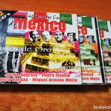 CDs de Música: LOS GRANDES CANTORES DE MEXICO - 2 CD ALBUM 2001 PEDRO INFANTE JORGE NEGRETE PEDRO VARGAS. Lote 288722298