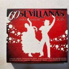 CDs de Música: 60 SEVILLANAS PARA BAILAR(2CD'S). Lote 288738298