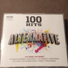CDs de Música: 5 CD 100 HITS ALTERNATIVE. Lote 288739273