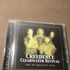 """CDs de Música: CD CREEDENCE CLEARWATER REVIVAL """" THE 20 GREATEST HITS """". Lote 288739473"""