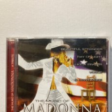 CDs de Música: THE MUSIC OF MADONNA. A TRIBUTE PERFORMED BY STUDIO 99.. Lote 288739878