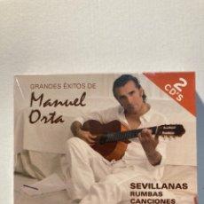 CDs de Música: GRANDES ÉXITOS DE MANUEL ORTA(2CD'S). Lote 288739963