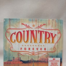 CDs de Música: TRIPLE CD COUNTRY FOREVER. 2019 UNIVERSAL MUSIC. Lote 288741673
