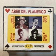 CDs de Música: ASES DEL FLAMENCO,(2CD'S).. Lote 288742328