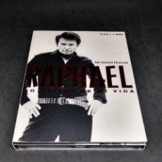 CDs de Música: RAPHAEL - MI GRAN NOCHE - 50 EXITOS DE MI VIDA - TRIPLE CD + DVD - RARO - 2013 - ENVIO GRATIS. Lote 288743483