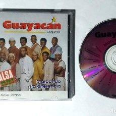 CDs de Música: GUAYACAN ORQUESTA MARCANDO LA DIFERENCIA CD MUSICA SALSA LATINA 1RA EDICION MEXICO. Lote 288744108
