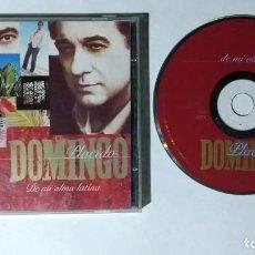 CDs de Música: PLACIDO DOMINGO CD 1994 DE MI ALMA LATINA 1RA EDICION MEXICO. Lote 288744118