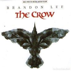 CDs de Música: BRANDON LEE - B.S.O. THE CROW (EL CUERVO) - CD ALBUM - 14 TRACKS - ATLANTIC RECORDING - AÑO 1994. Lote 288865633