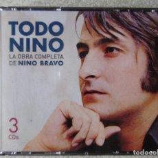 CDs de Música: TODO NINO BRAVO.LA OBRA COMPLETA DE NINO BRAVO...3 CD´S. Lote 288866053