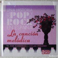 CDs de Música: UNA HISTORIA DEL POP Y DEL ROCK.LA CANCION MELÓDICA...DOBLE CD...VV.AA. Lote 288866188