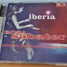 CDs de Musique: ROSA SABATER ALBENIZ IBERIA MOMPOU. Lote 288900118