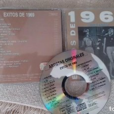 CDs de Música: CD-ALBUM DE VARIOS - EXITOS DE 1.969. Lote 288924683