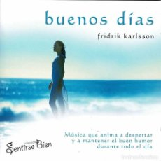 CDs de Música: FRIDRIK KARLSSON - BUENOS DÍAS. CD. Lote 288931828