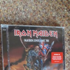 CDs de Música: IRON MAIDEN , ENGLAND '88 , 2XCD 2013 , NUEVO PRECINTADO.. Lote 288944608