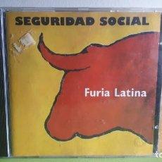 CDs de Música: SEGURIDAD SOCIAL - FURIA LATINA - 1993 - COMPRA MÍNIMA 3 EUROS. Lote 288945708
