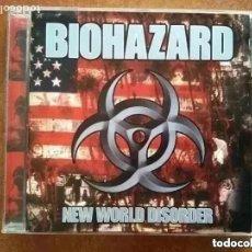 CDs de Música: BIOHAZARD - NEW WORLD DISORDER (CD). Lote 288946568
