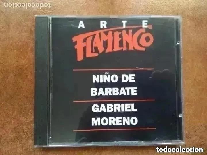 ARTE FLAMENCO ORBIS. NIÑO DE BARBATE. GABRIEL MORENO (CD) (Música - CD's Flamenco, Canción española y Cuplé)