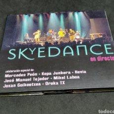 CD de Música: SKYEDANCE - EN DIRECTO - VARIOS - CD - 2001 - ALASDAIR FRASER - MERCEDES PEON - KEPA JUNKERA - HEVIA. Lote 288977858
