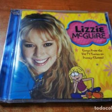 CDs de Música: LIZZIE MCGUIRE BANDA SONORA SERIE DISNEY CHANNEL CD ALBUM 2002 HILARY DUFF JACKSON 5 S CLUB 7. Lote 288997338