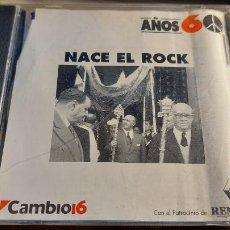 CDs de Música: CD. DE NACE EL ROK AÑOS 60. Lote 289017573